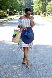 Monica Awe-Etuk -  - AWE BY MONICA: BLUES, STRIPES, AND POM POMS