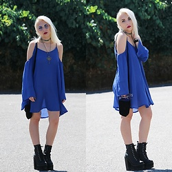 Cátia Gonçalves - Sammydress Dress, Jeffrey Campbell Shoes Boots - Always seems to me You only see what people want you to see