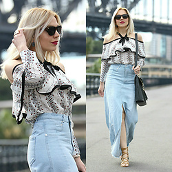 Scarlett Vargas - Zaful Skirt, Zaful Blouse - Blame it on the trend