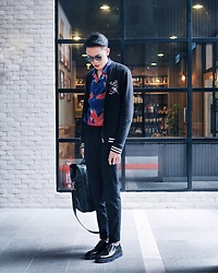 MR.BRIAN SEE - Paul Smith Tote Bag, Dior Homme Shoe, Topman Jacket, H&M Shirt, Dior Homme Shades - I' m like a bird
