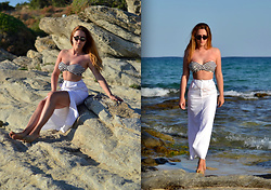 Martina Manolcheva - H&M Swimsuit, Skirt - Summer Days