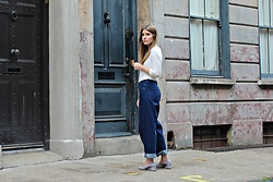 Angharad Jones - T By Alexander Wang Top, Cos Jeans, Topshop Shoes - The Straight Fit Jeans