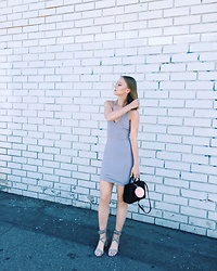 Katie Van Daalen Wetters - Fashionnova Dress, Chinese Laundry Sandals, Saint Laurent Sac De Jour Nano Bag - I Graduated