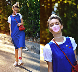 Kseniya Celikdelen - Inci Bag, Zara Dress, Levi's® Sport Shoes - About a Child