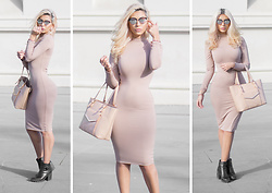 Jasmine Janabi - Tijn Eyewear Sepori, Supre High Neck Midi Dress - Its My Reputation