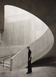 Mikko Puttonen - H&M Turtleneck, Joseph Trousers, Jil Sander Shoes - TATE MODERN