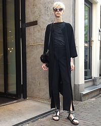 Egor Svetsky - Monki Long Blazer, Monki Pants - Amsterdam