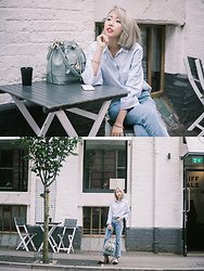 Kennie Cheng - Bassie Bag, Zara Shirt, H&M Jeans - EVERYDAY ROUTINE