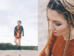 ♡Anita Kurkach♡ - Zaful Dress, Sheinside Jacket - RADIOACTIVE