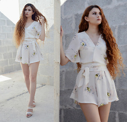 Nogynyan - Sammydress Playsuit, Laura Biagiotti Shoes - Romper