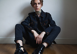 Mikko Puttonen - Celine Scarf, Nudie Jeans Jacket, Nudie Jeans, Balenciaga Cut Out Boots - SHEPHERD