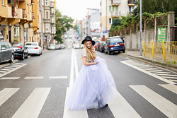 Juliette Jakubowska - Skirt - TULLE SKIRT AND SAN FRANCISCO
