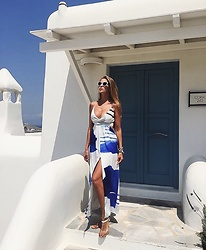Karolina Antoniades - Delphine Dress - Greek