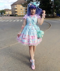 Minty Jackson - Angelic Pretty Diner Doll - Candy Girl