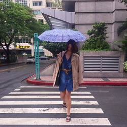 Cassey Cakes - Mango Umbrella, Mango Leopard Belt - Wet Friday Struggle