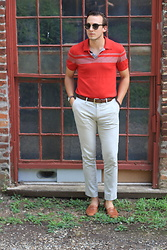 Wes Lambert - Banana Republic Polo Shirt, Cole Haan Loafers, Topman Dress Pants, Urban Outfitters Sunglasses - Yacht Club
