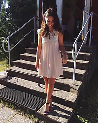 Mirella T. - Bytimo Dress, Zara Heels - Bridesmaid.