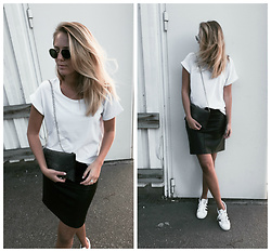 Kajsa Svensson - Skirt, Tshirt, Sneakers, Bag - I REMEBER U TOLD ME ONCE.