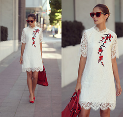 Ruxandra Ioana - Dressfo Dress - White lace
