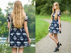 Marta Caban - Gamiss Dress - DOLL PRINT DRESS