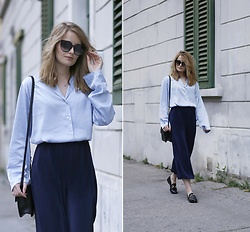 PATINESS - Blog, Instagram, Facebook - CULOTTES & PYJAMA SHIRT