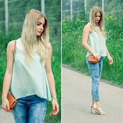 Charmeuse - Mint Top - Www.charmeuse.pl
