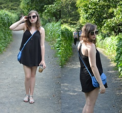 Dylan Leah - Silence + Noise Slip Dress - Central Park Afternoon