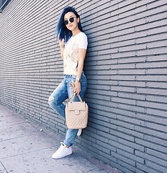 Gigi Lam - Chanel Bag, Zara Cami Top, Adidas Sneakers - SunDaze