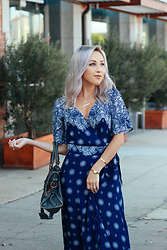 Hayley Larue -  - The Prettiest Wrap Dress You Ever Did See
