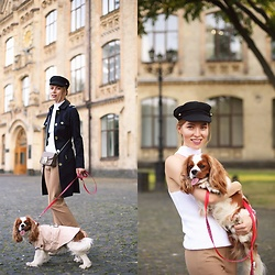 Valeriya Sytnik - Asos Cap, Michael Kors Coat - Walk with Best Friend