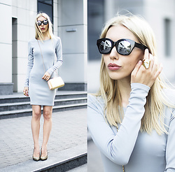 Margo Bryksina - Zerouv Sunglasses - Shades of Blue