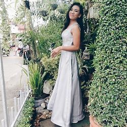 Ana Esguerra - Gray Long Gown - Elegant ?