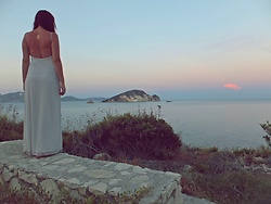Diana Ilioi - Zara Dress - The tanlines will fade but the memories will last forever!