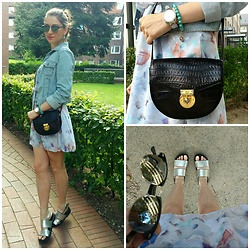 Illona.Verdi - Gina Tricot Jacket, Jerome Leplat Purce, H&M Sandals - Summer inside and outside with details