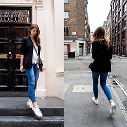 Jacky - Rebecca Minkoff Bag, Adidas Sneakers - London Streets