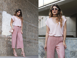 Diana Ior - Zara T Shirt, Zara Culottes, Zara Shoulder Bag - Afterglow