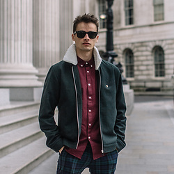 Anton Dee - Farah Shirt - Farah Menswear Lookbook