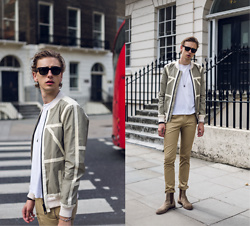 Oliver Lips - Belstaff Jacket, Acne Studios Chinos - #Unpacked