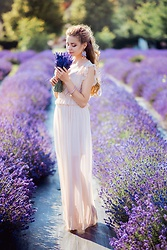 Juliette Jakubowska - Dress - MAXI DRESS & FIELD FULL OF LAVENDER