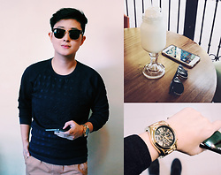 CYB ★ Elizalde - Ray Ban Clubmaster, Michael Kors Bradshaw Gold - I'll meet you there