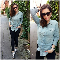 Illona.Verdi - Ralph Lauren Denim, Fossil Watches, Zara Jeans, Xchange Sneakers - Walking around