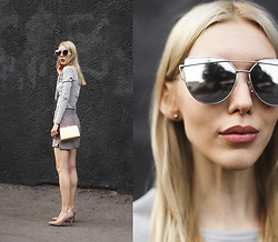 Margo Bryksina - Top, Zerouv Sunglasses - Blacks