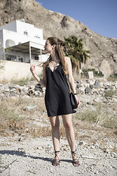 Ina Nuvo - Na Kd Fashion Lbd, Chloé Drew Bag, Mango Lace Up Sandals - Into the Wild