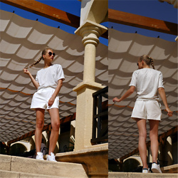 Frederique - fablefrique.com -  - White summer outfit