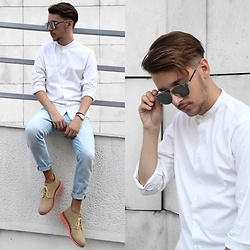 StreetFashion101 - Zara Shirt, H&M Jeans, Madden Shoes - I Call it Classic