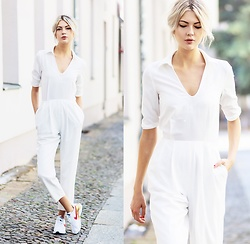 Ebba Zingmark - The Fifth Label Jumpsuit, Nike Sneakers - STAR MACHINE