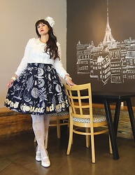 Badia Cupcake - Weastside Couture Curiouser And Curiouser And Curioser Skirt - Curiouser and curiouser