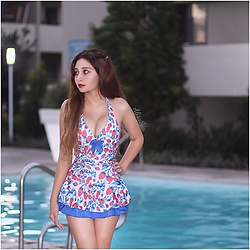 Alisa Sia -  - Pool Dress