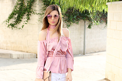 Cosmina M. //mbcos.net - Gamiss Silk Blouse - Rose
