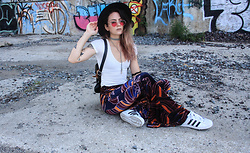 Wawa Baby - Adidas Sneakers, Polette Sunglasses, Brandy Melville Usa Top, Free People Pants - Light My Fire